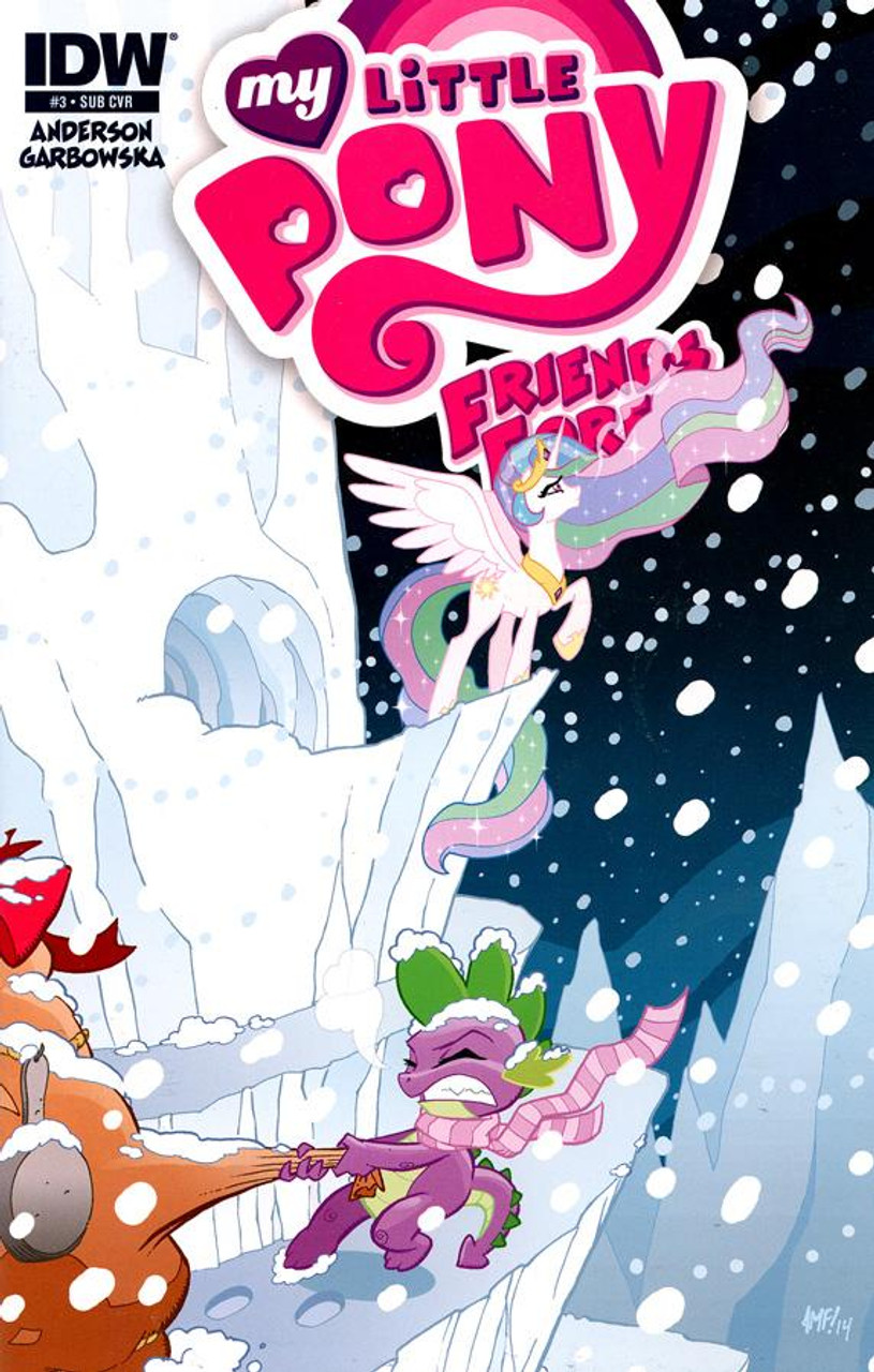 My Little Pony Friends Forever Comic Book #3 [Subscription Cover]