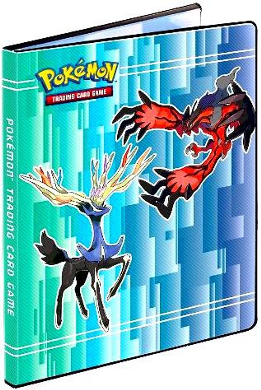 Ultra Pro Pokemon X & Y Card Supplies Xernias & Yveltal 9-Pocket Binder