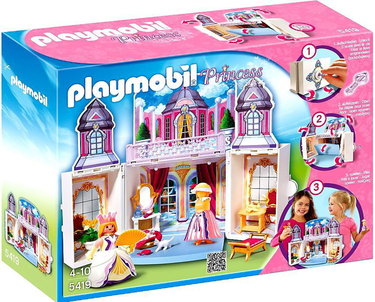 Playmobil My Secret Play Box Princess Castle Set 5419 Toywiz