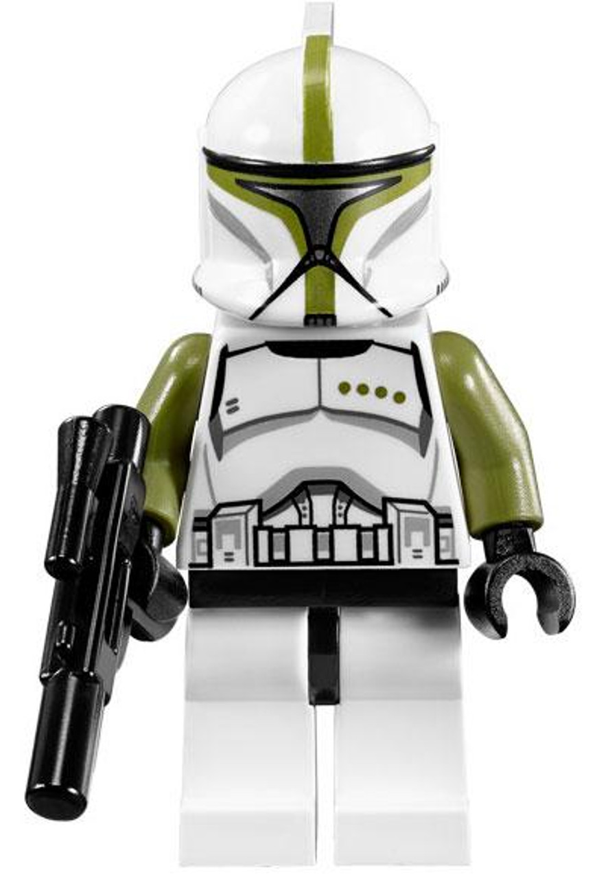 LEGO Star Wars The Clone Wars Loose Clone Commander Minifigure [Olive Green Loose]