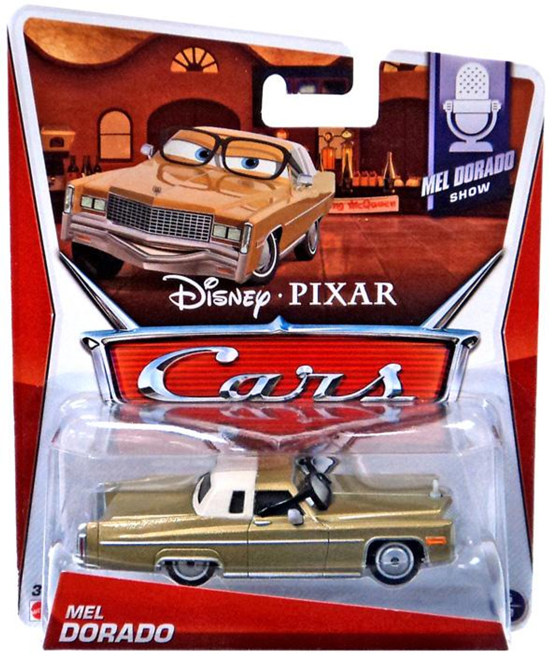 Disney Cars Mel Dorado Diecast Car #5