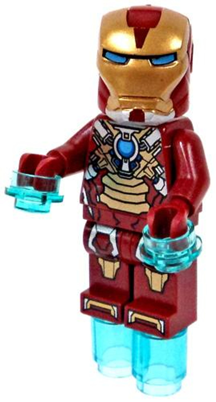 LEGO Marvel Super Heroes Loose Iron Man Mark XVII Minifigure [Heart Breaker Armor Loose]