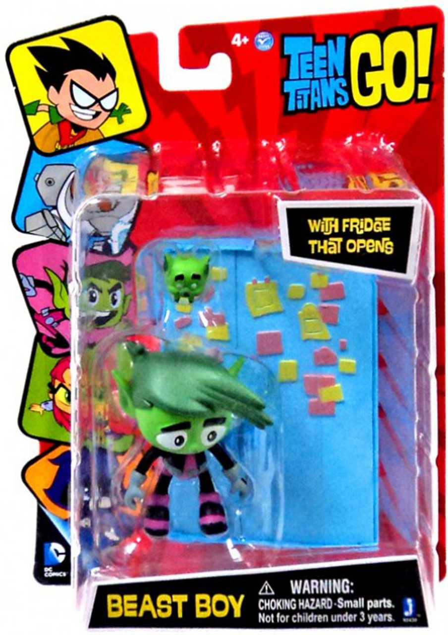 Teen Titans Go! Beast Boy 3-Inch Figure [Fridge That Opens]