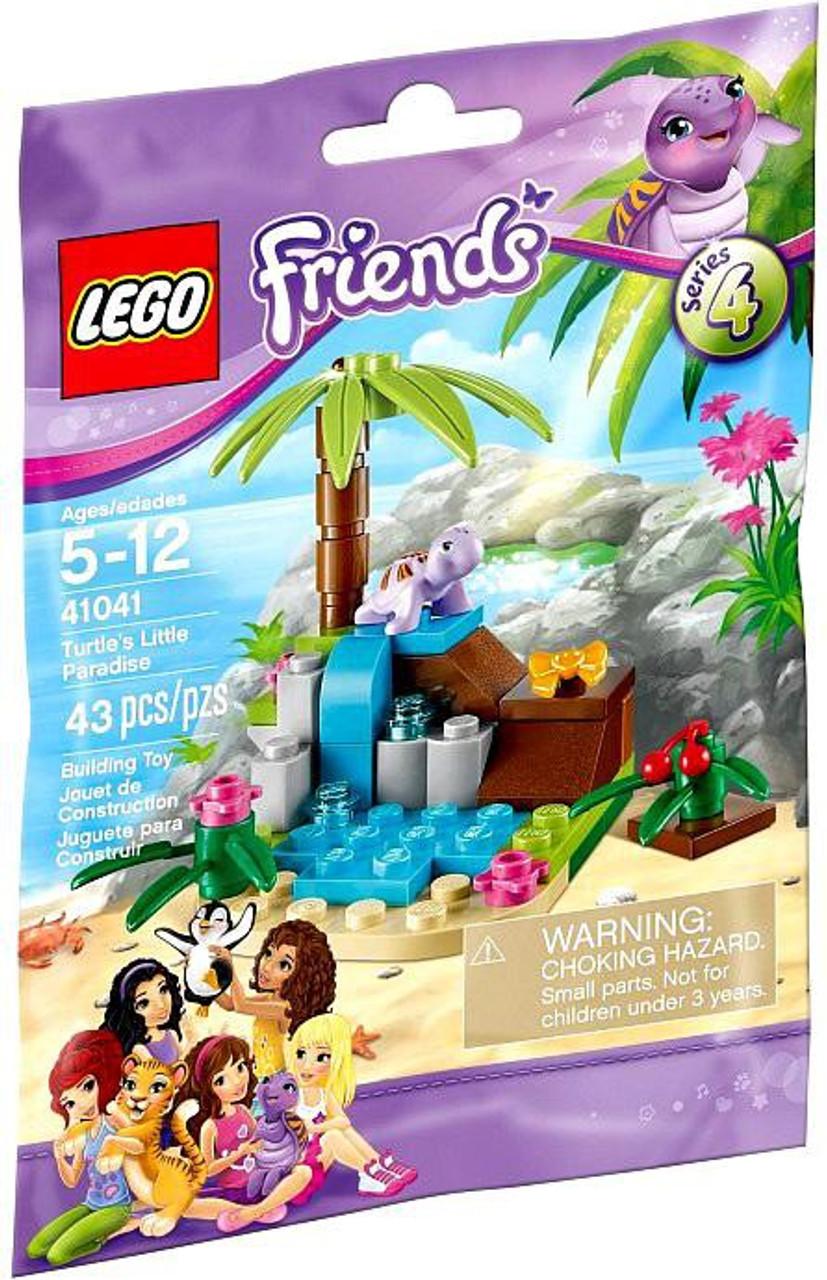 LEGO Friends Series 4 Turtle's Little Paradise Mini Set #41041