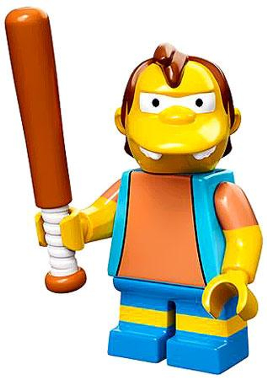 LEGO The Simpsons Simpsons Series 1 Nelson Muntz Minifigure [Loose]