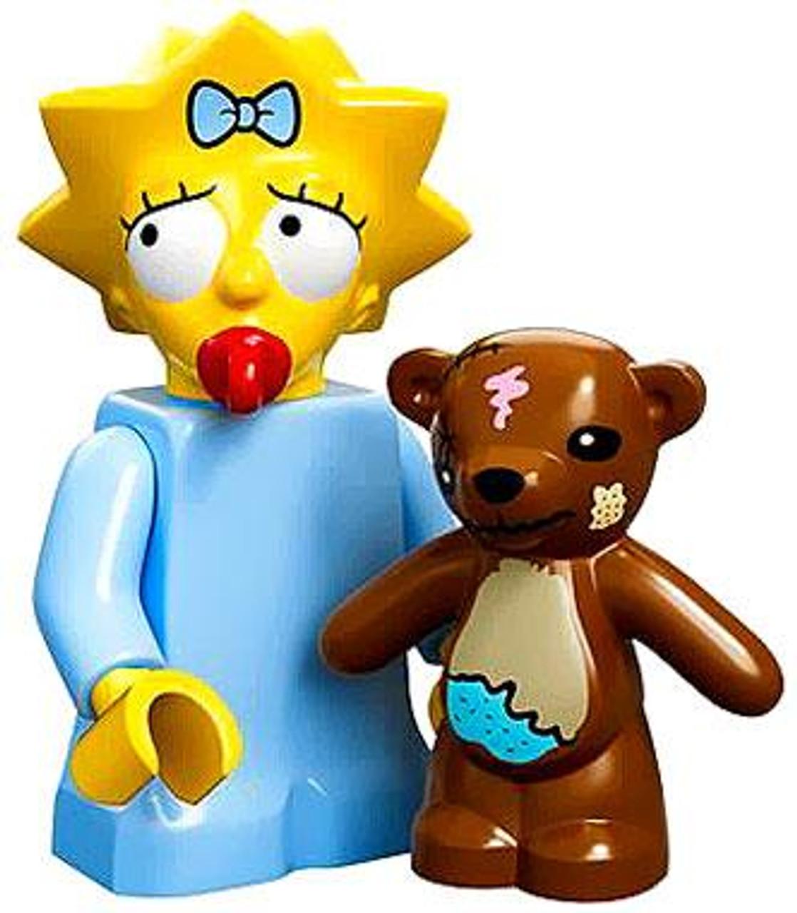 LEGO The Simpsons Simpsons Series 1 Maggie Simpson Minifigure [Loose]