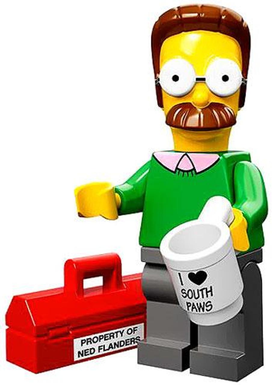 LEGO The Simpsons Simpsons Series 1 Ned Flanders Minifigure [Loose]
