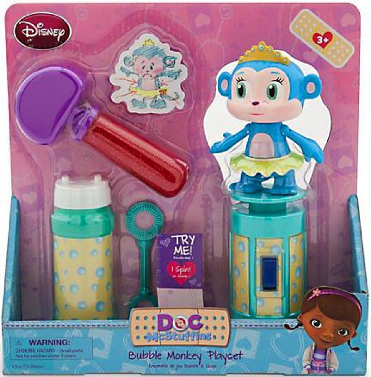 Disney Doc McStuffins Bubble Monkey Exclusive Playset
