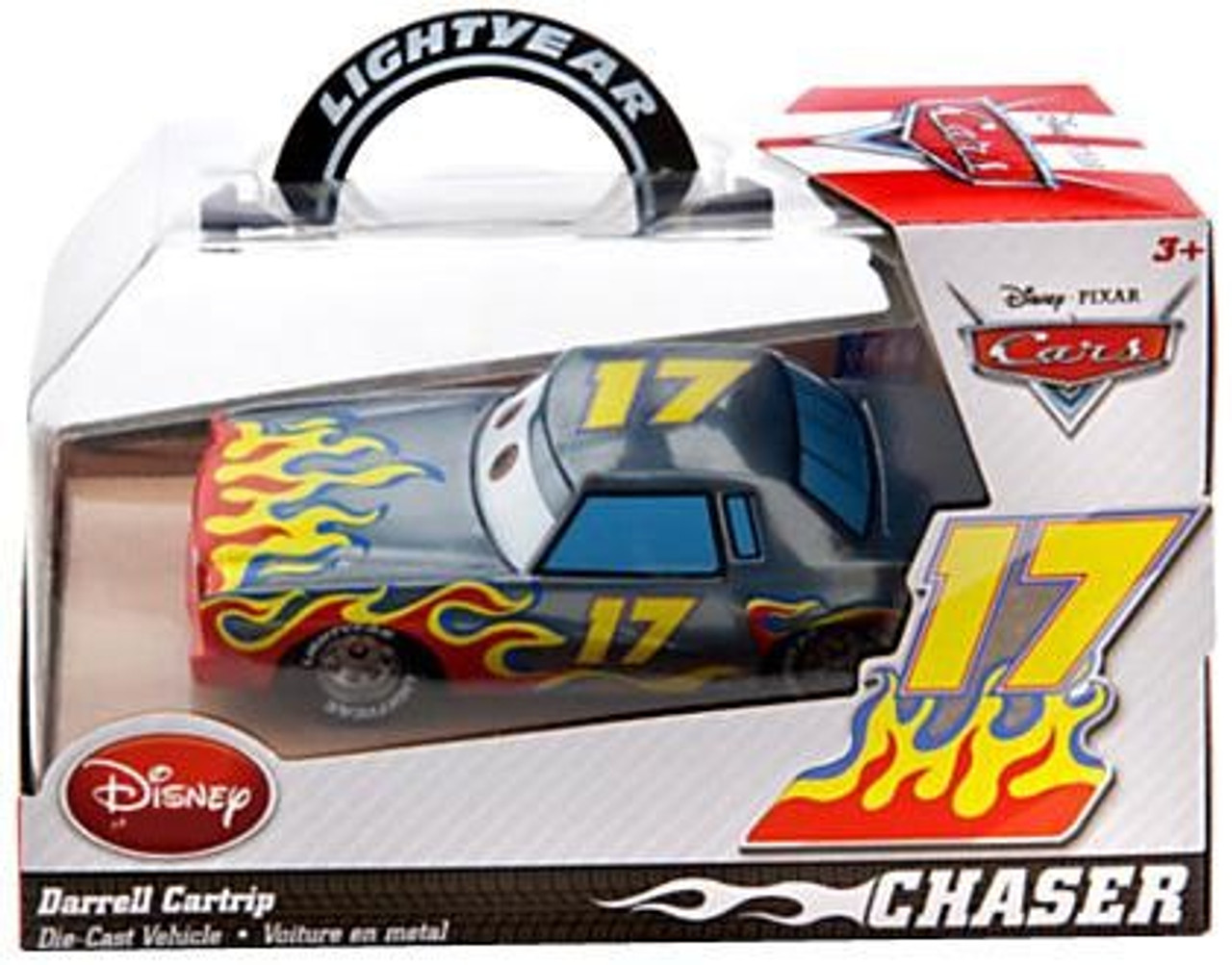 Disney Cars Darrell Cartrip Exclusive Diecast Car [Chase Edition]
