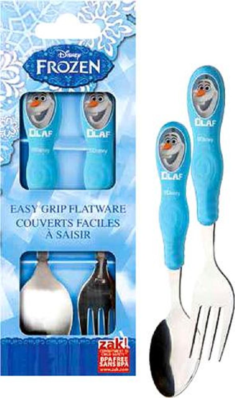 Disney Frozen Olaf Easy-Grip Flatware Set
