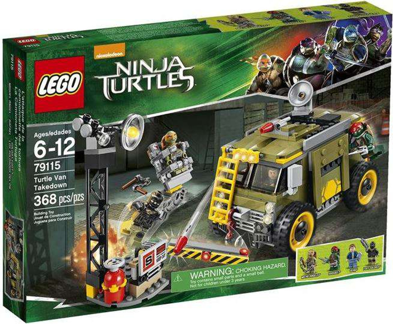 LEGO Teenage Mutant Ninja Turtles Ninja Turtles 2014 Turtle Van Takedown Set #79115