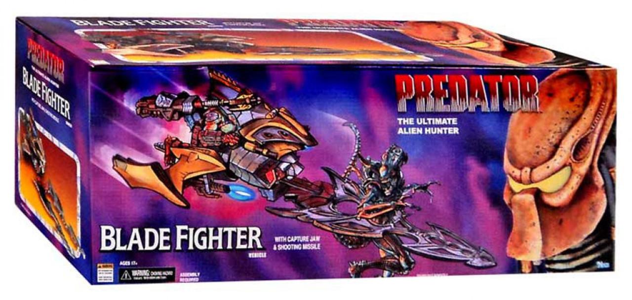 Neca Predator Kenner Blade Fighter Action Figure Vehicle
