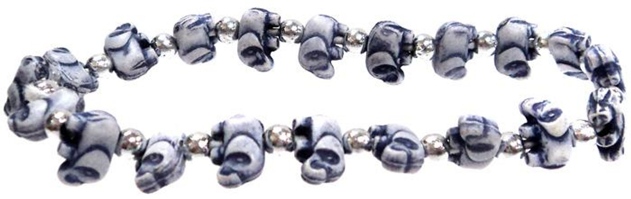 Elephantz Dark Blue Elephants Bracelet