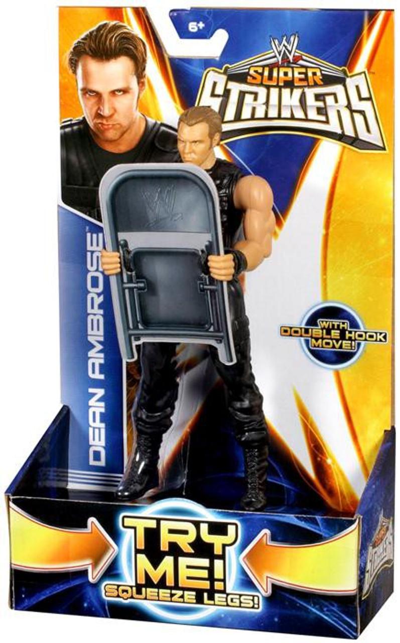 WWE Wrestling Super Strikers Dean Ambrose Action Figure