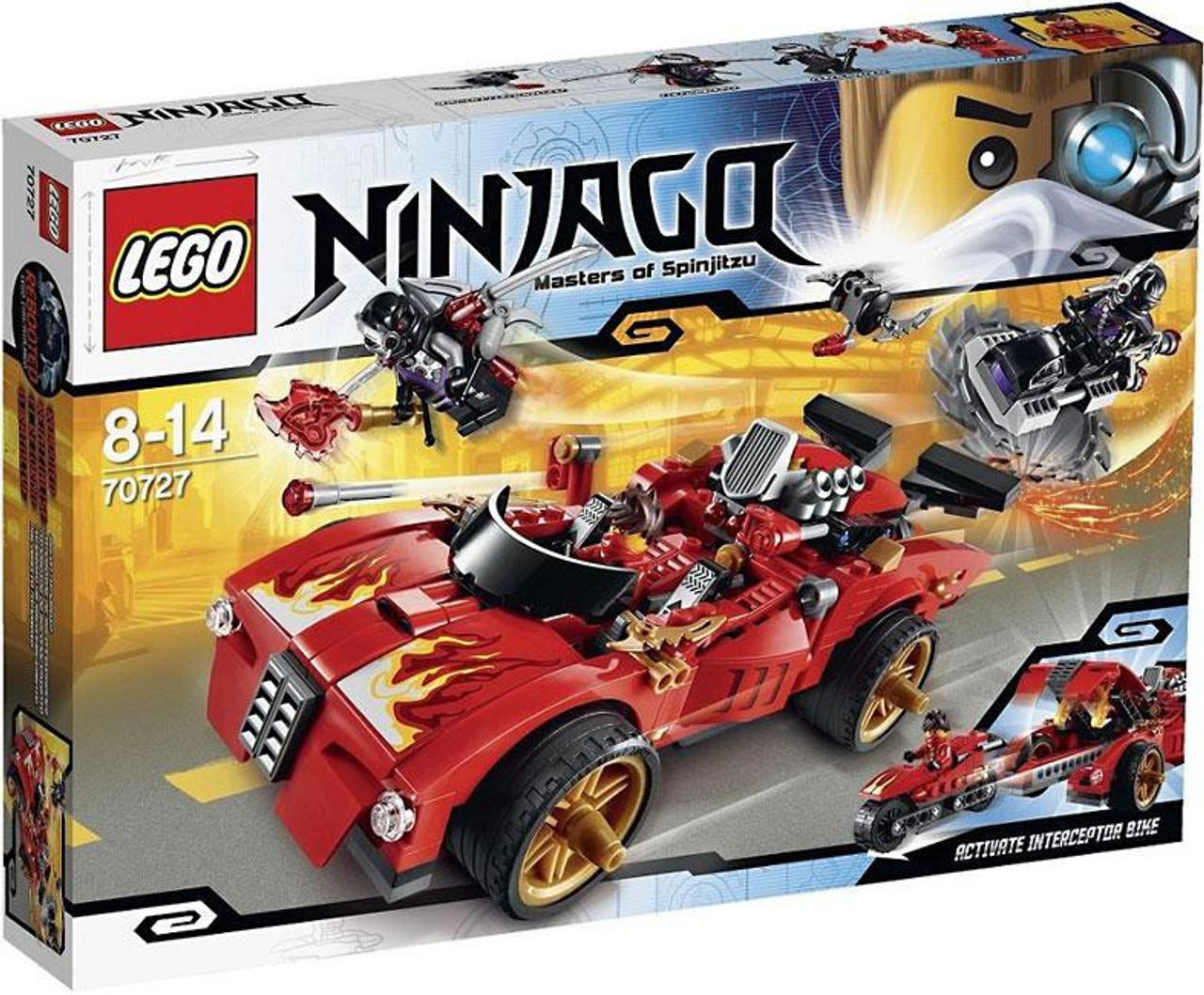 LEGO Ninjago Rebooted X-1 Ninja Charger Set #70727