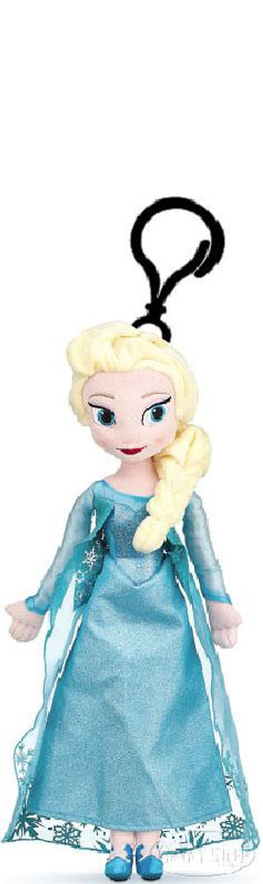 Disney Frozen Elsa 7.5-Inch Plush Clip On