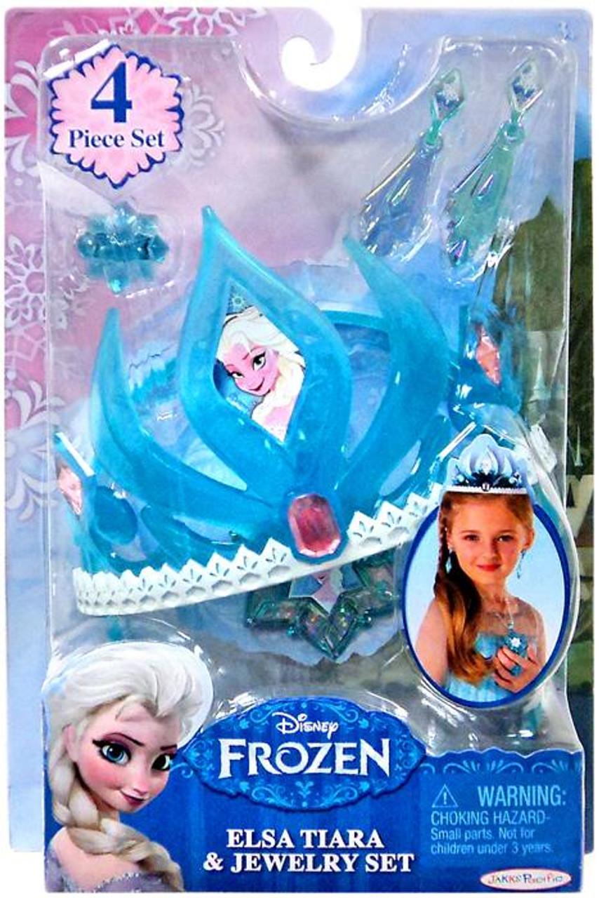 Disney Frozen Elsa Tiara & Jewelry Set Dress Up Toy