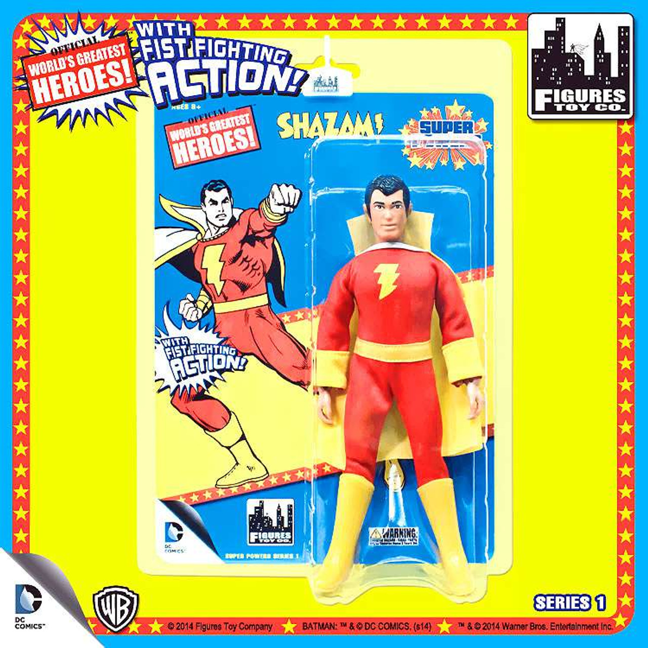 DC Super Powers World's Greatest Heroes Series 1 Shazam Action Figure