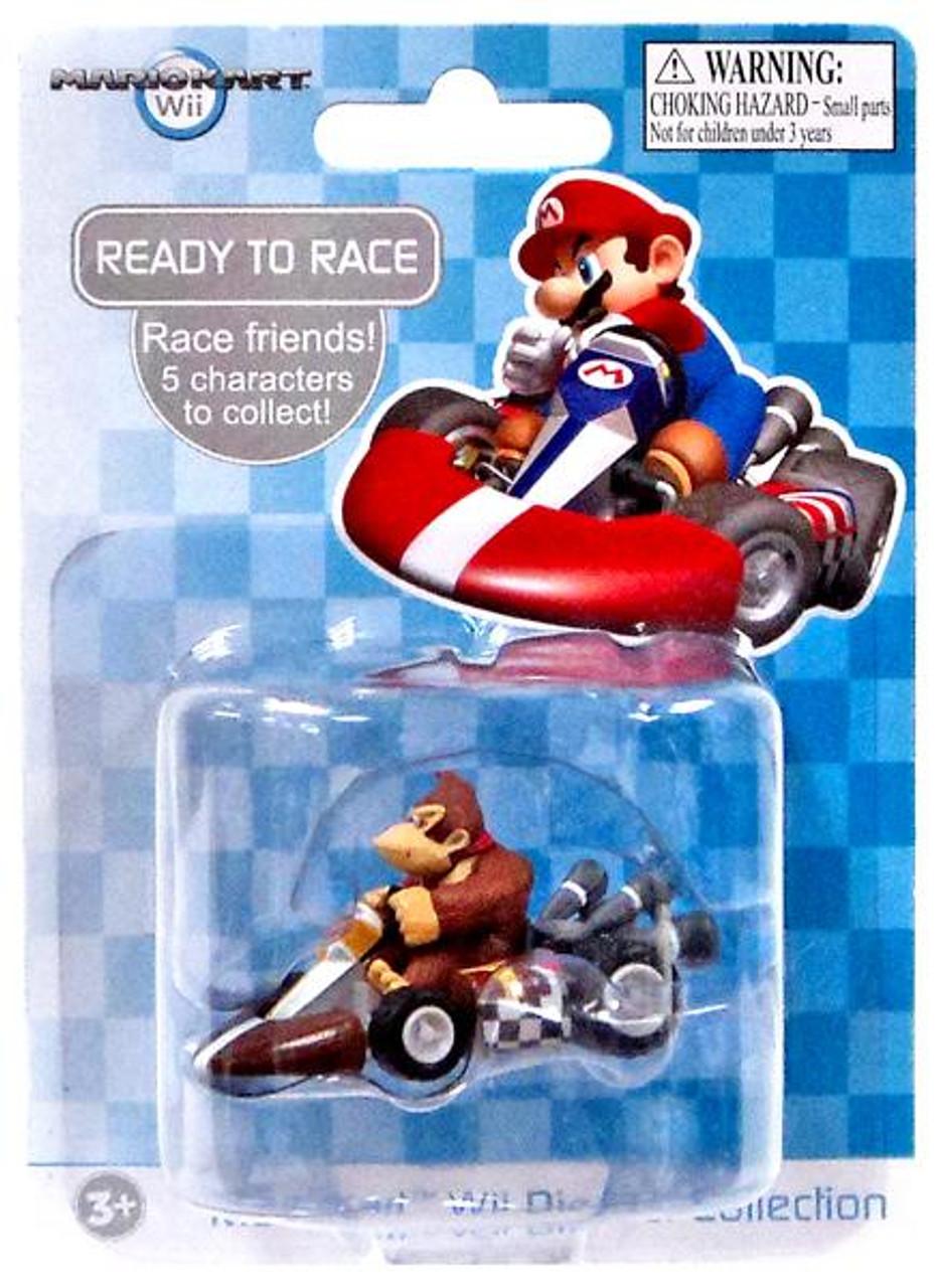 Super Mario Mario Kart Wii Diecast Collection Donkey Kong 2-Inch Diecast Vehicle