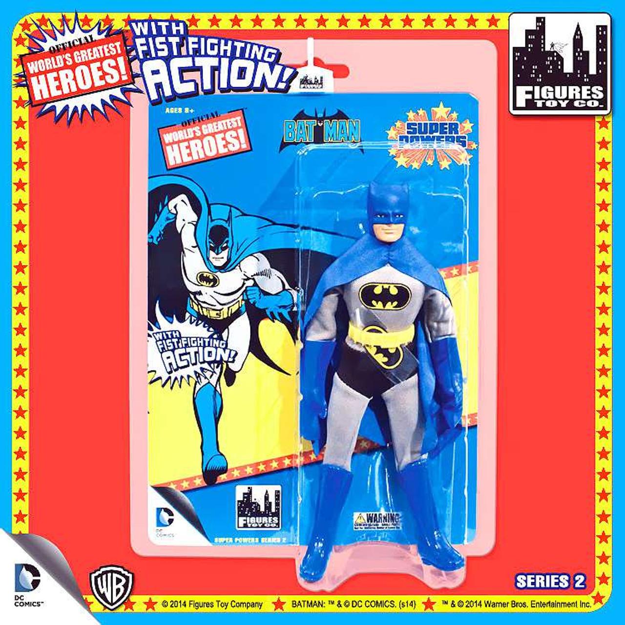 World's Greatest Heroes Super Powers Series 2 Batman Action Figures