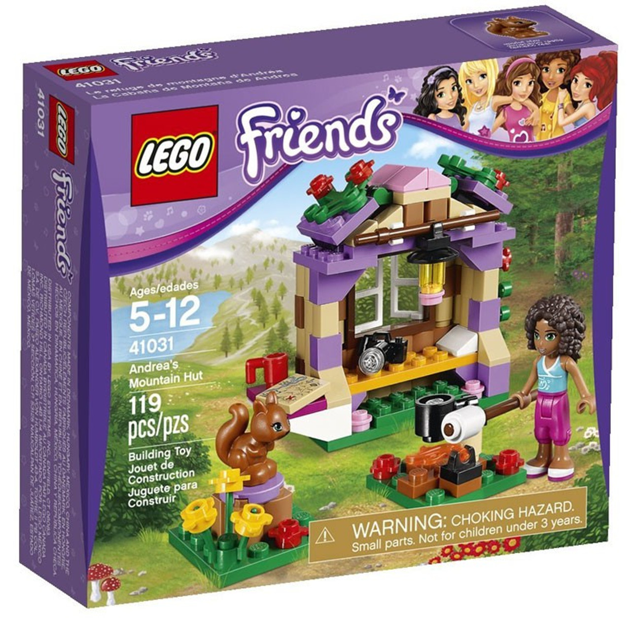 LEGO Friends Andrea's Mountain Hut Set #41031
