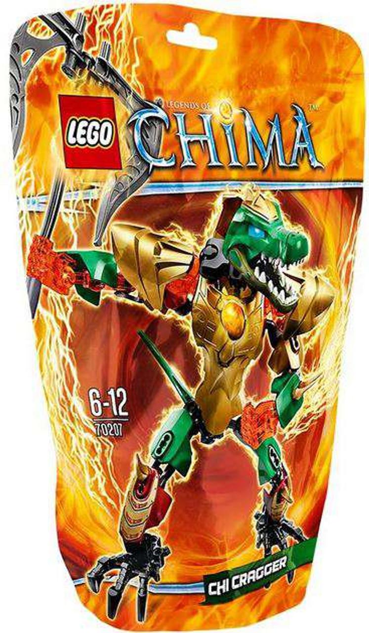 LEGO Legends of Chima CHI Cragger Set #70207