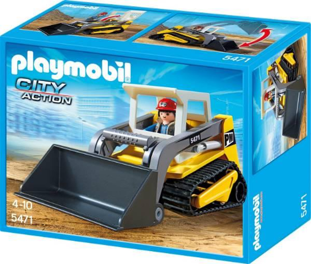 Playmobil City Action Compact Excavator Set #5471