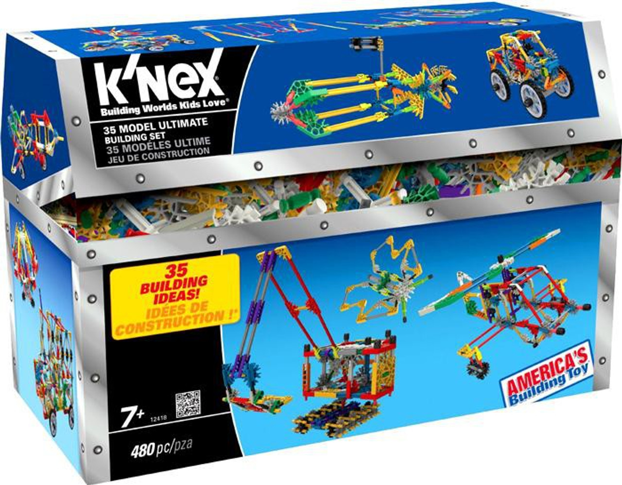 K'Nex 35 Model Ultimate Set #12418