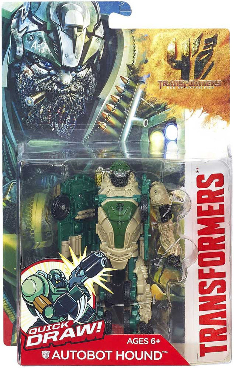 Transformers Age of Extinction Power Battler Autobot Hound Action Figure
