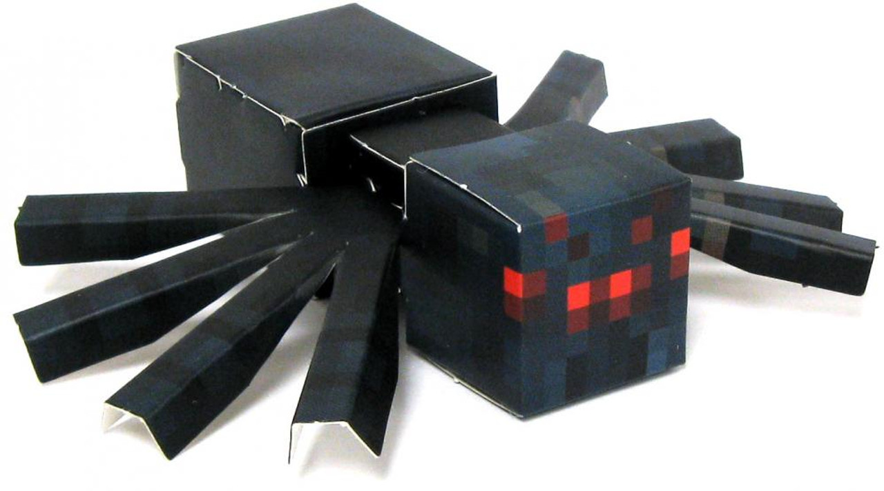 Minecraft Cave Spider Papercraft [Single Piece]