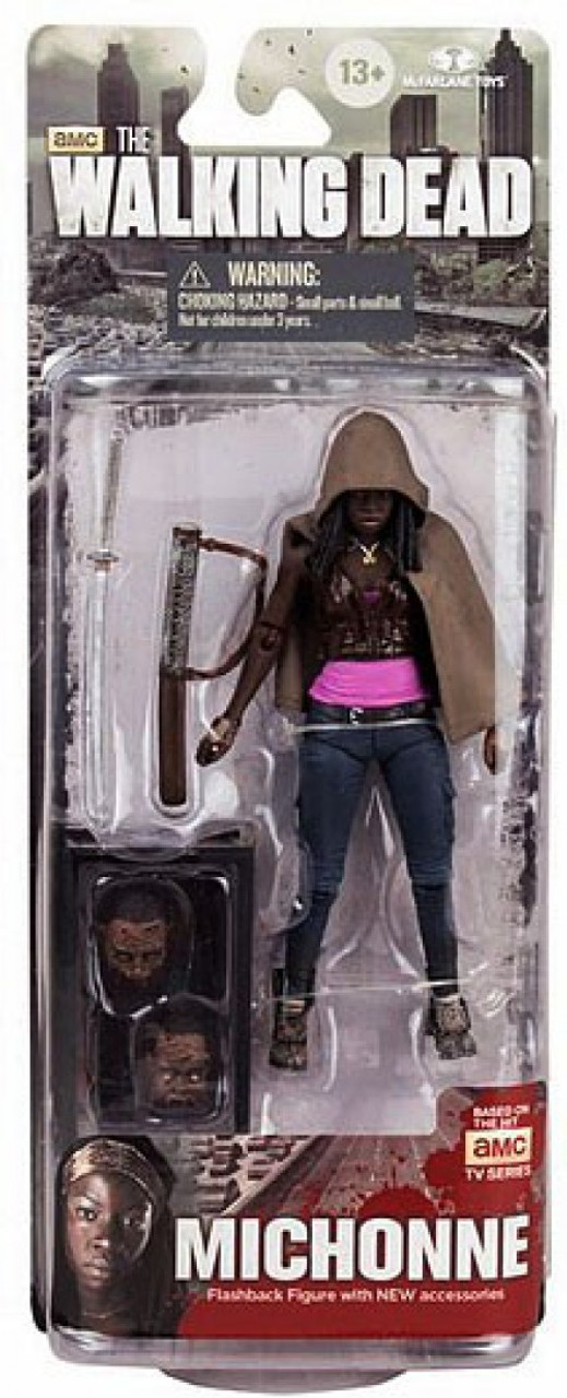 McFarlane Toys Walking Dead AMC TV Series 6 Michonne Action Figure [Fish Tank & 2 Heads]