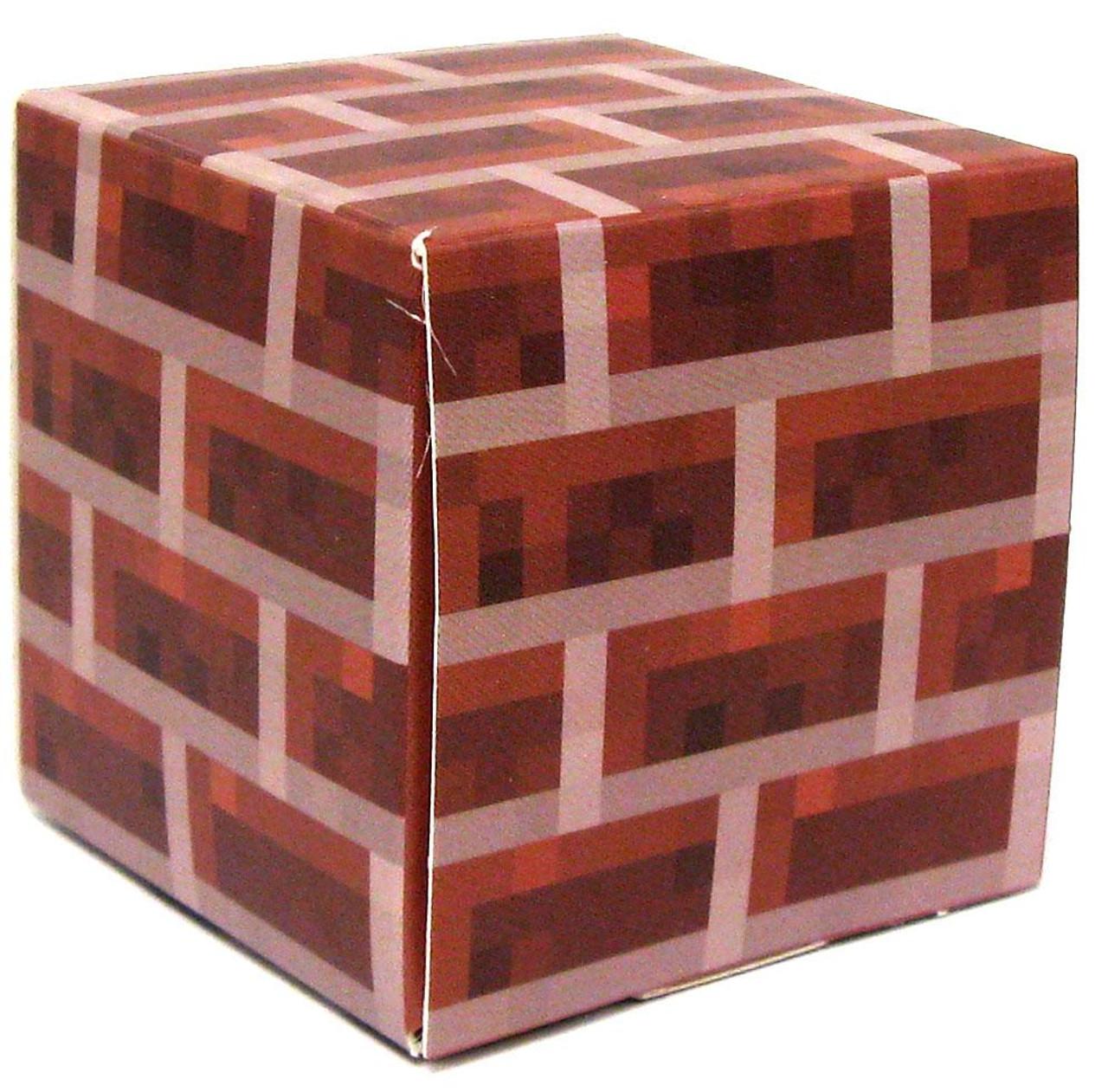 Minecraft Brick Block Papercraft [Single Piece]