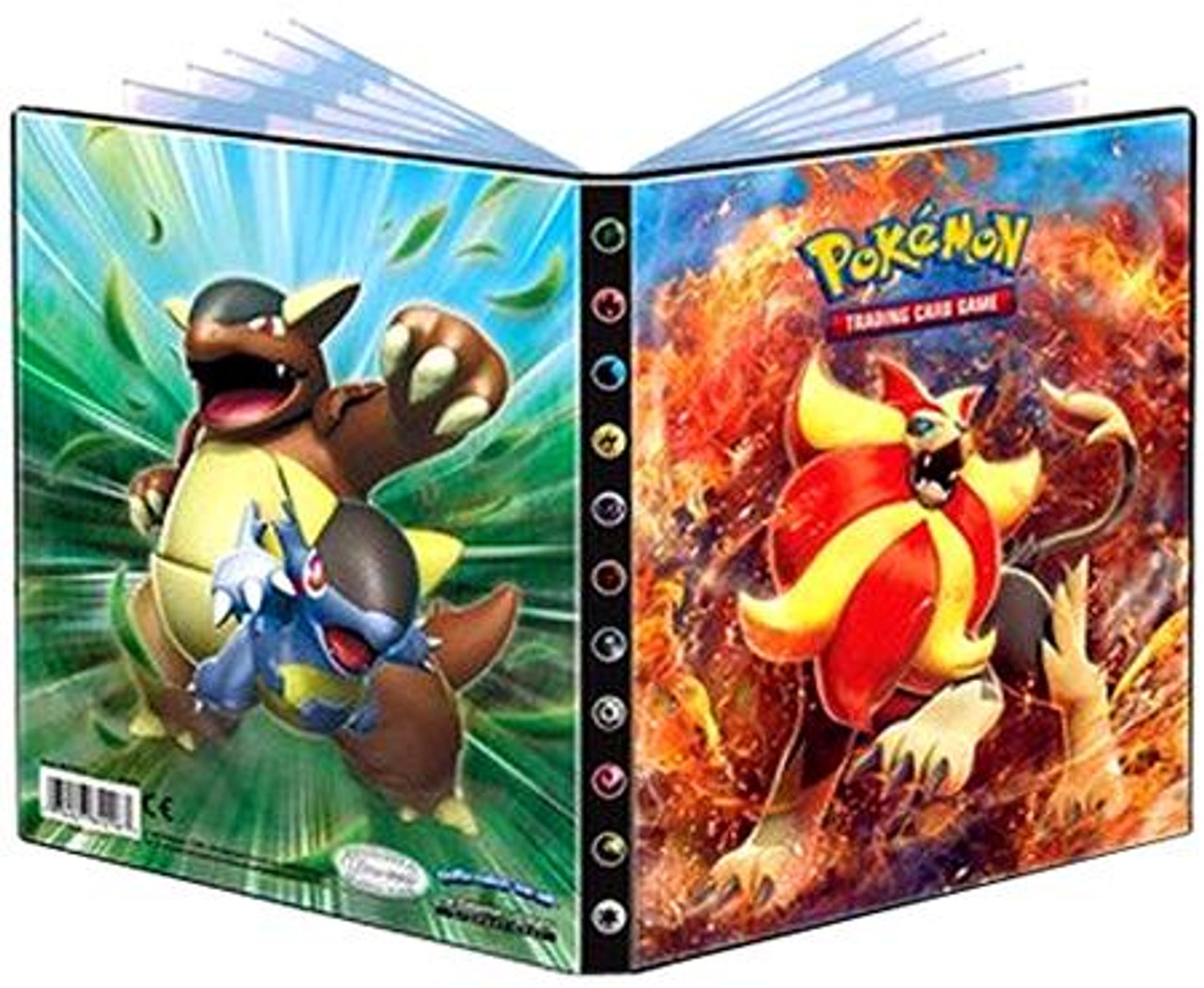 Ultra Pro Pokemon Card Supplies Pyroar 4-Pocket Binder