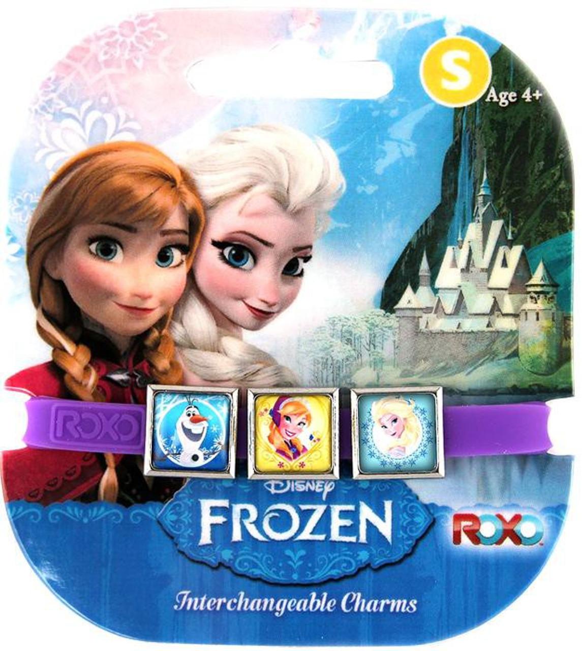 Disney Frozen Olaf, Anna, Elsa Charm Bracelet [Small]