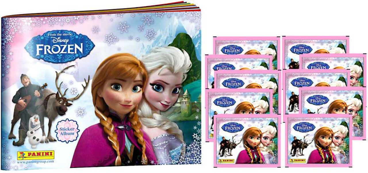 Disney Frozen Frozen Sticker Album [With 10 Packs]