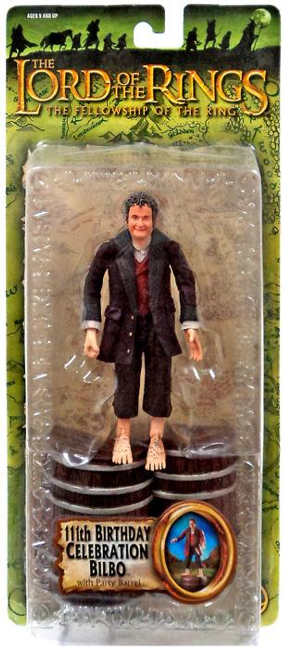 The Lord of the Rings The Fellowship of the Ring 111th Birthday Celebration Bilbo Action Figure