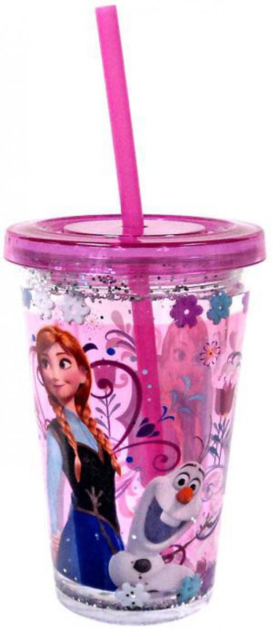 Disney Frozen Anna & Olaf Tumbler with Straw Exclusive Accessory