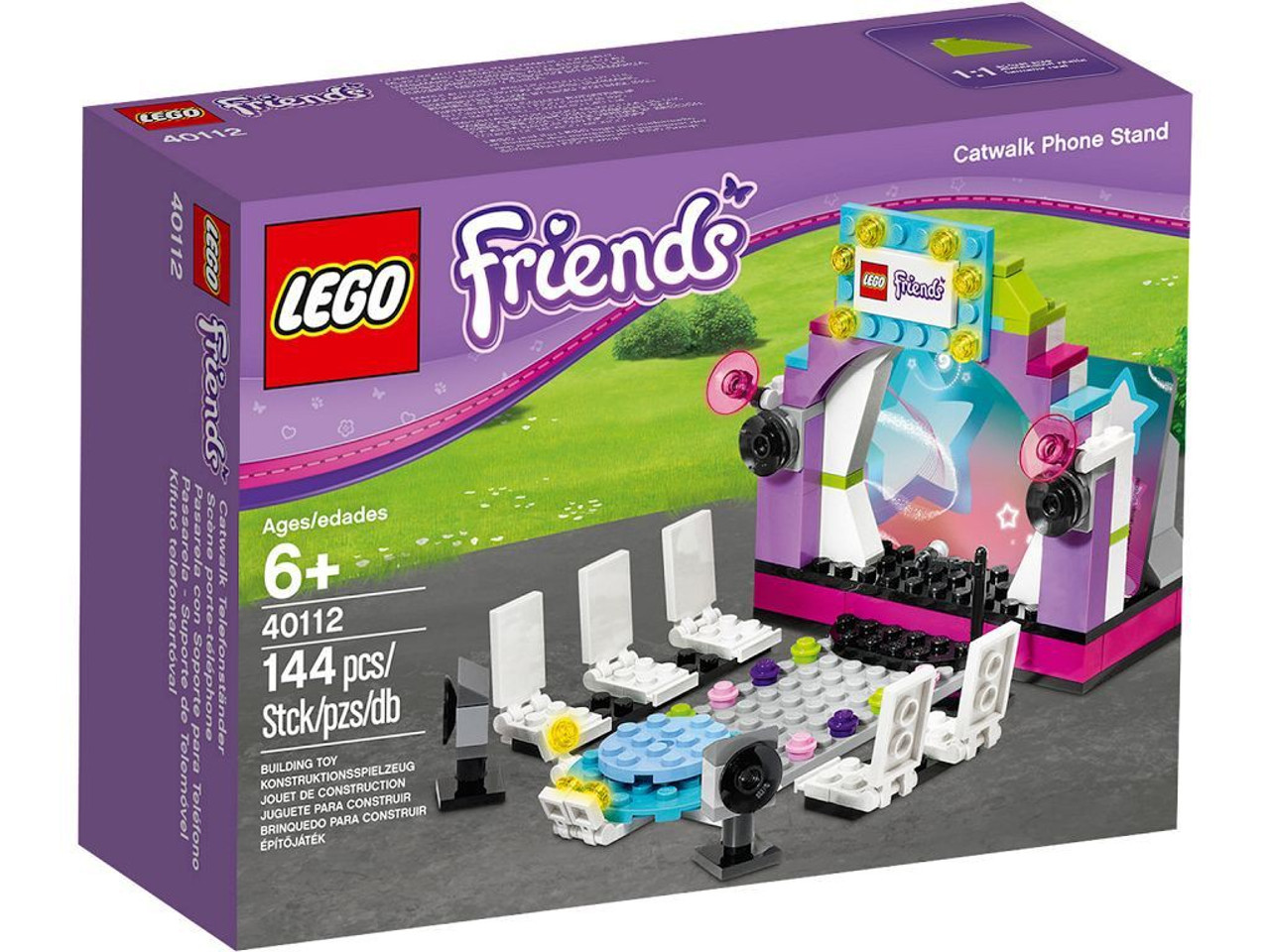 LEGO Friends Cat Walk Phone Stand Set #40112
