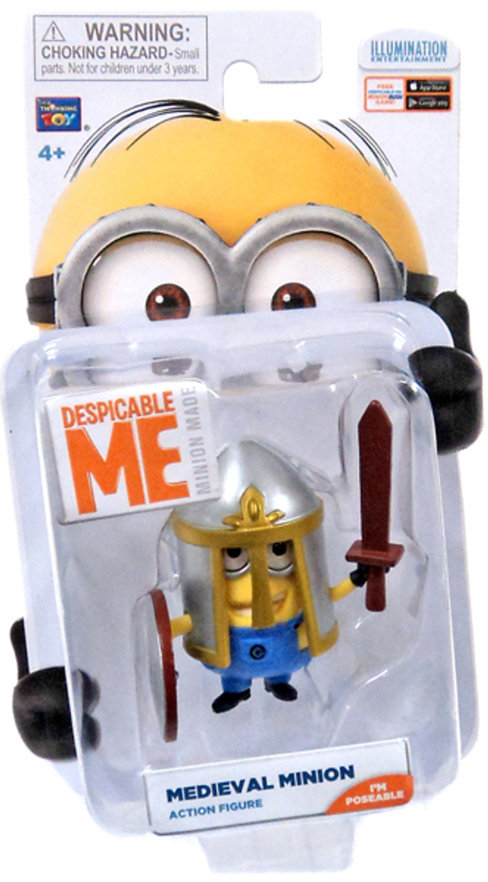 Despicable Me Minion Made Medieval Minion Action Figure