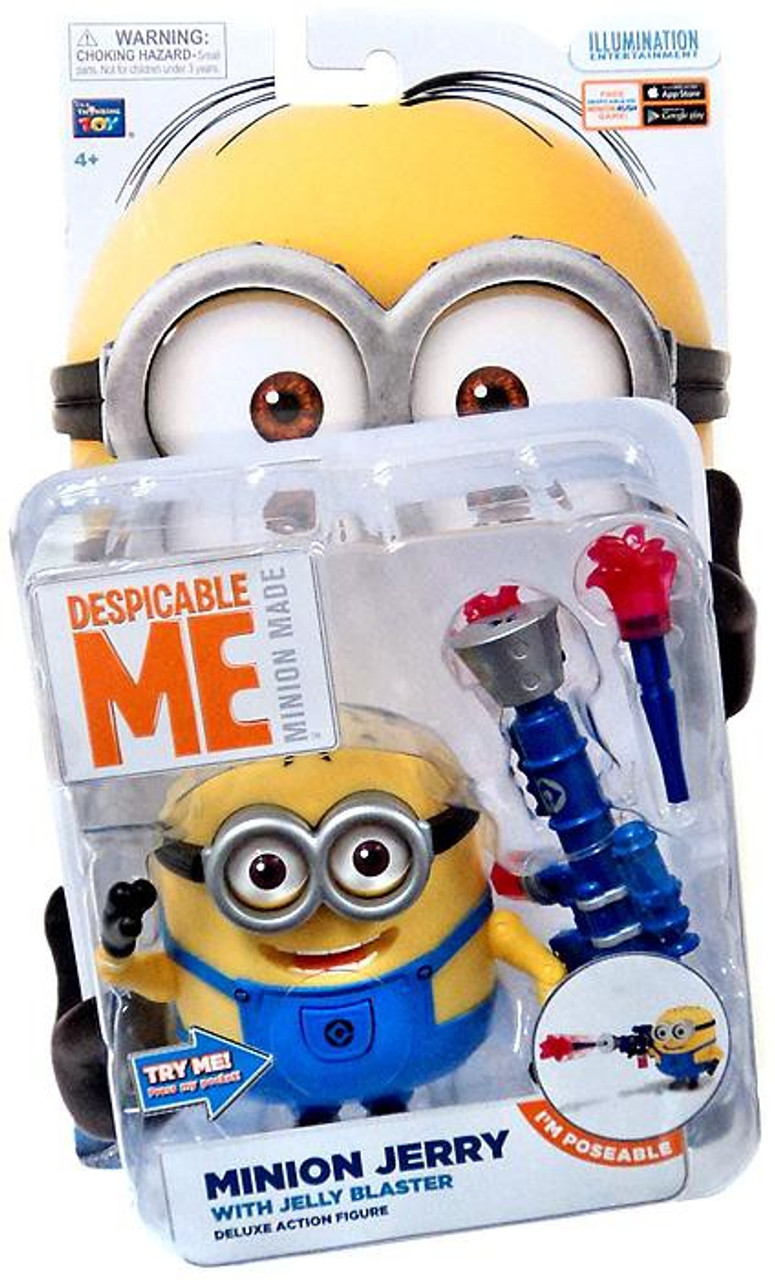 Despicable Me Minion Made Minion Jerry Action Figure [Jelly Blaster]
