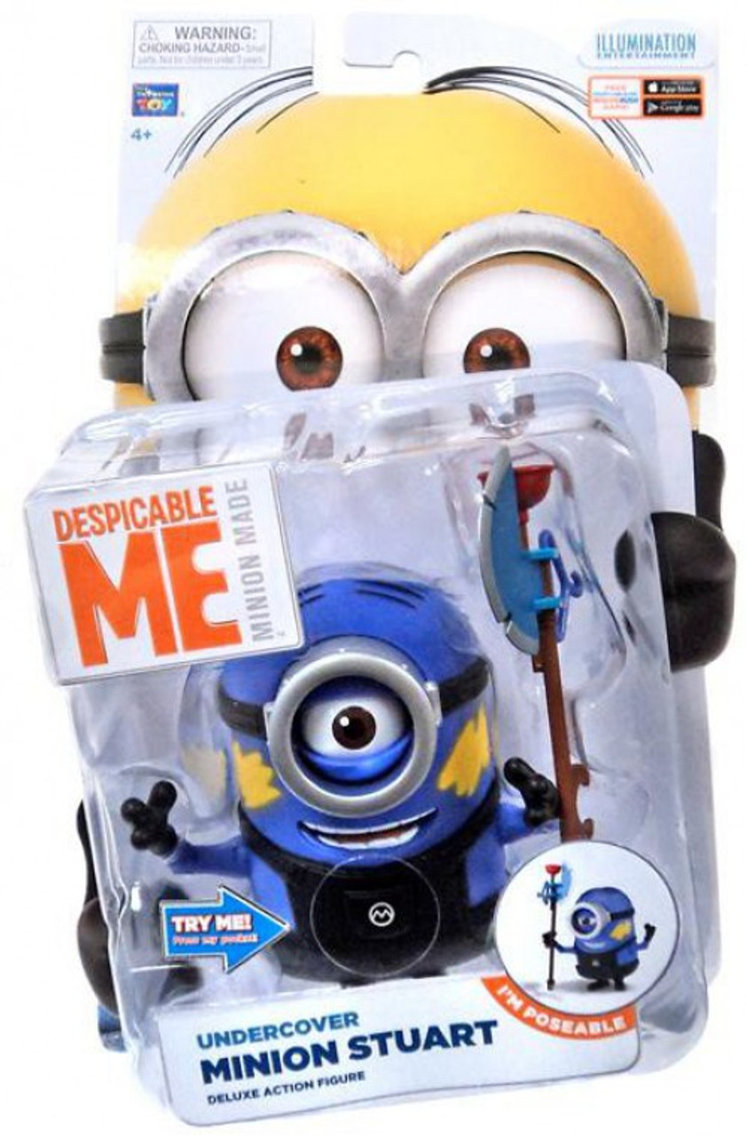 Despicable Me Minion Made Undercover Minion Stuart Action Figure