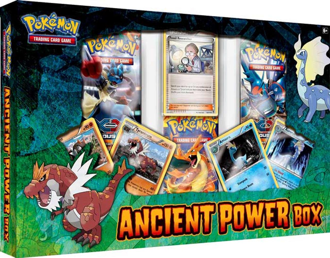 Pokemon XY Ancient Power Box