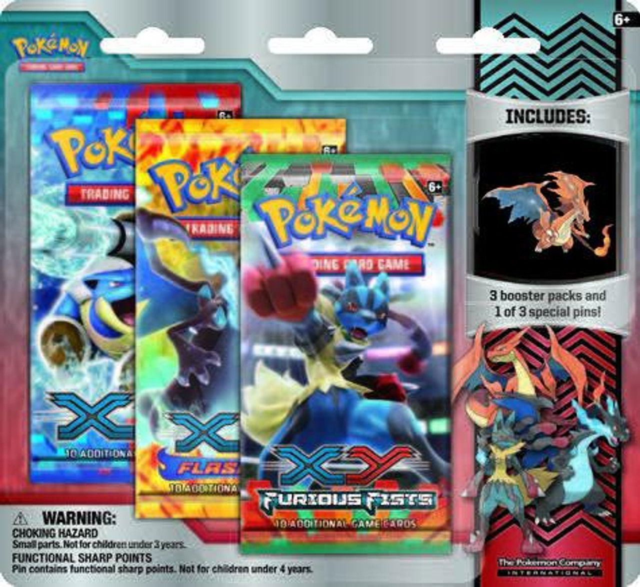 Pokemon X & Y Mega Evolution Collector Pin Pack Special Edition [Mega Fire Type Charizard Pin]