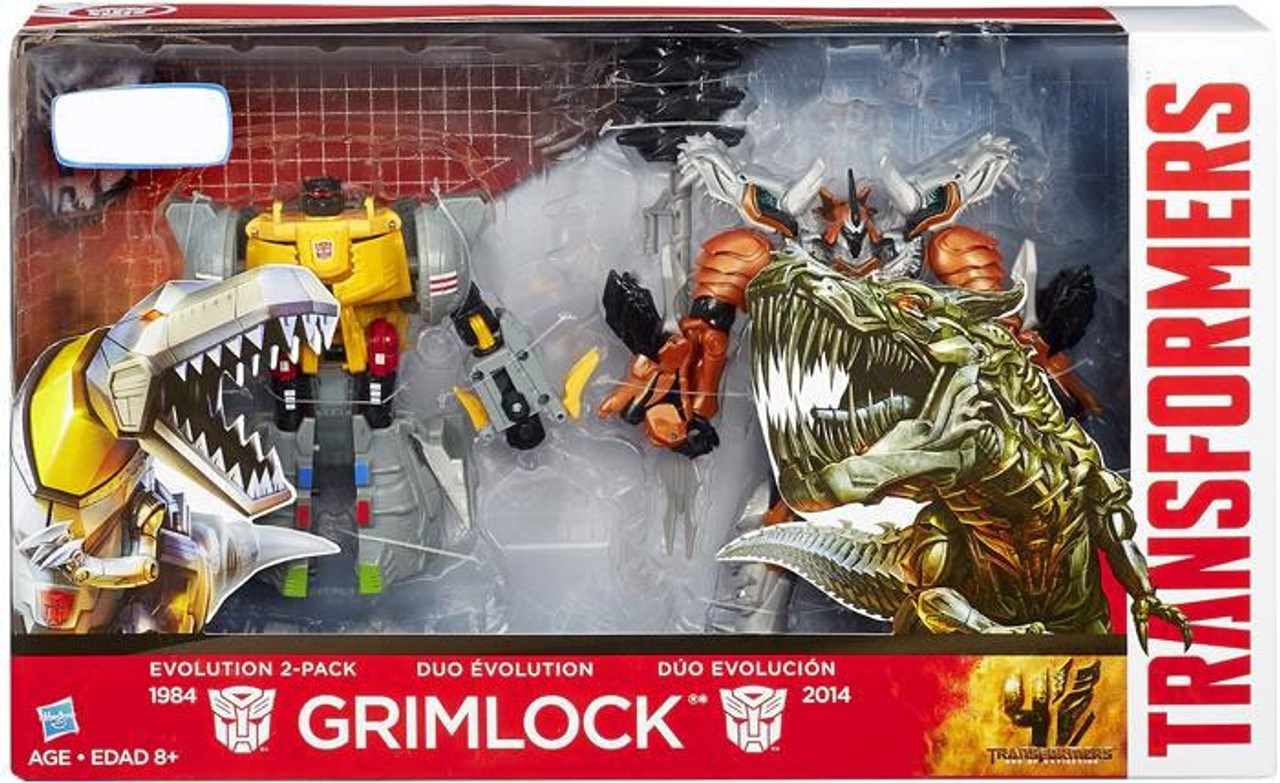 Transformers Age of Extinction Duo Evolution Grimlock Exclusive Action Figure 2-Pack
