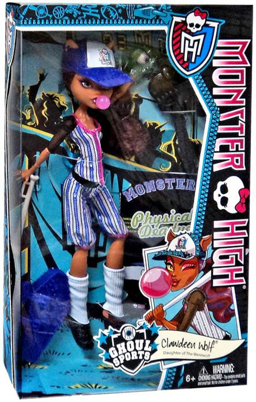 Monster High Ghoul Sports Clawdeen Wolf 10.5-Inch Doll