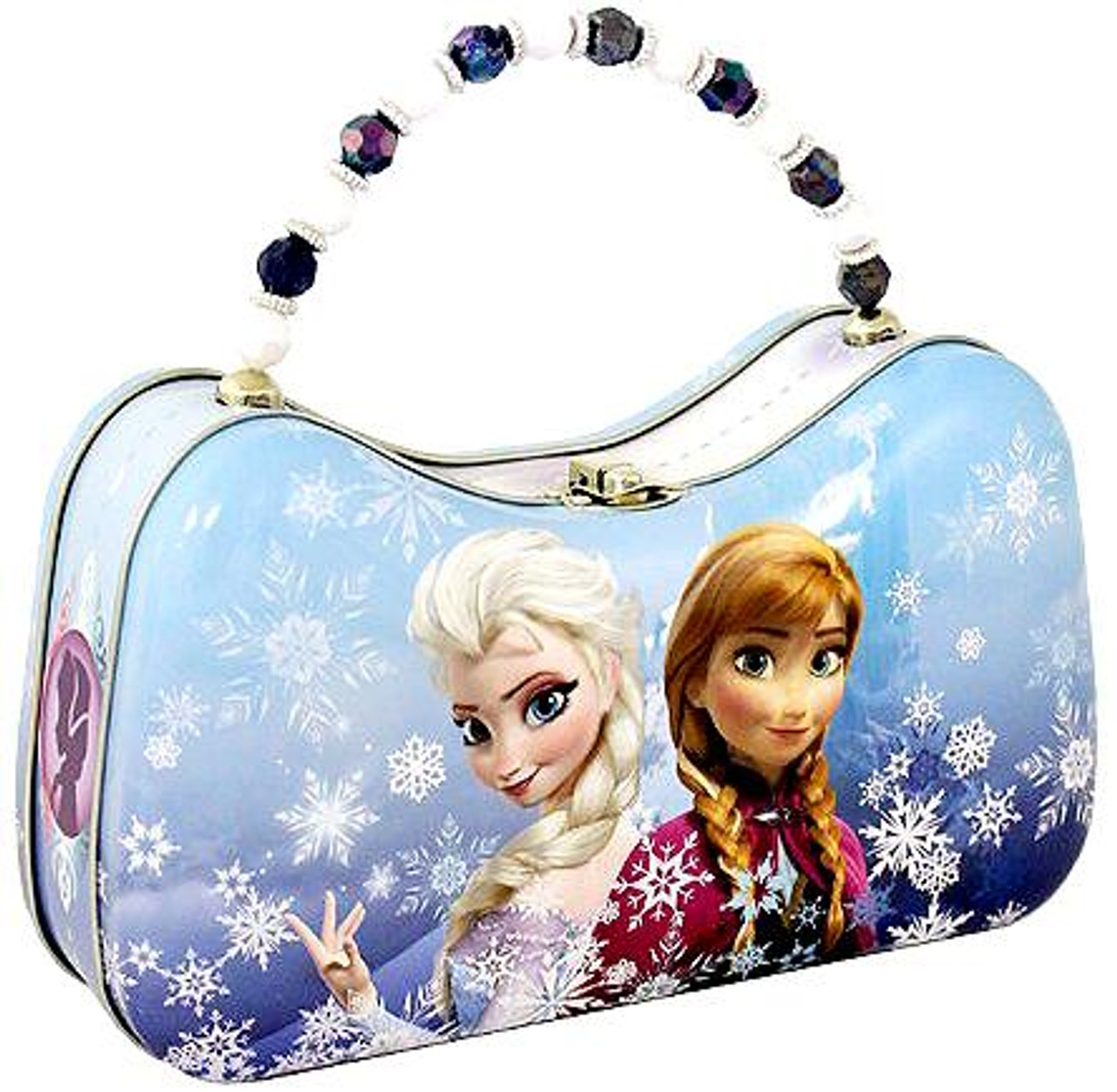 Disney Frozen Anna & Elsa Scoop Tin Purse Accessory [Random Cover Design]