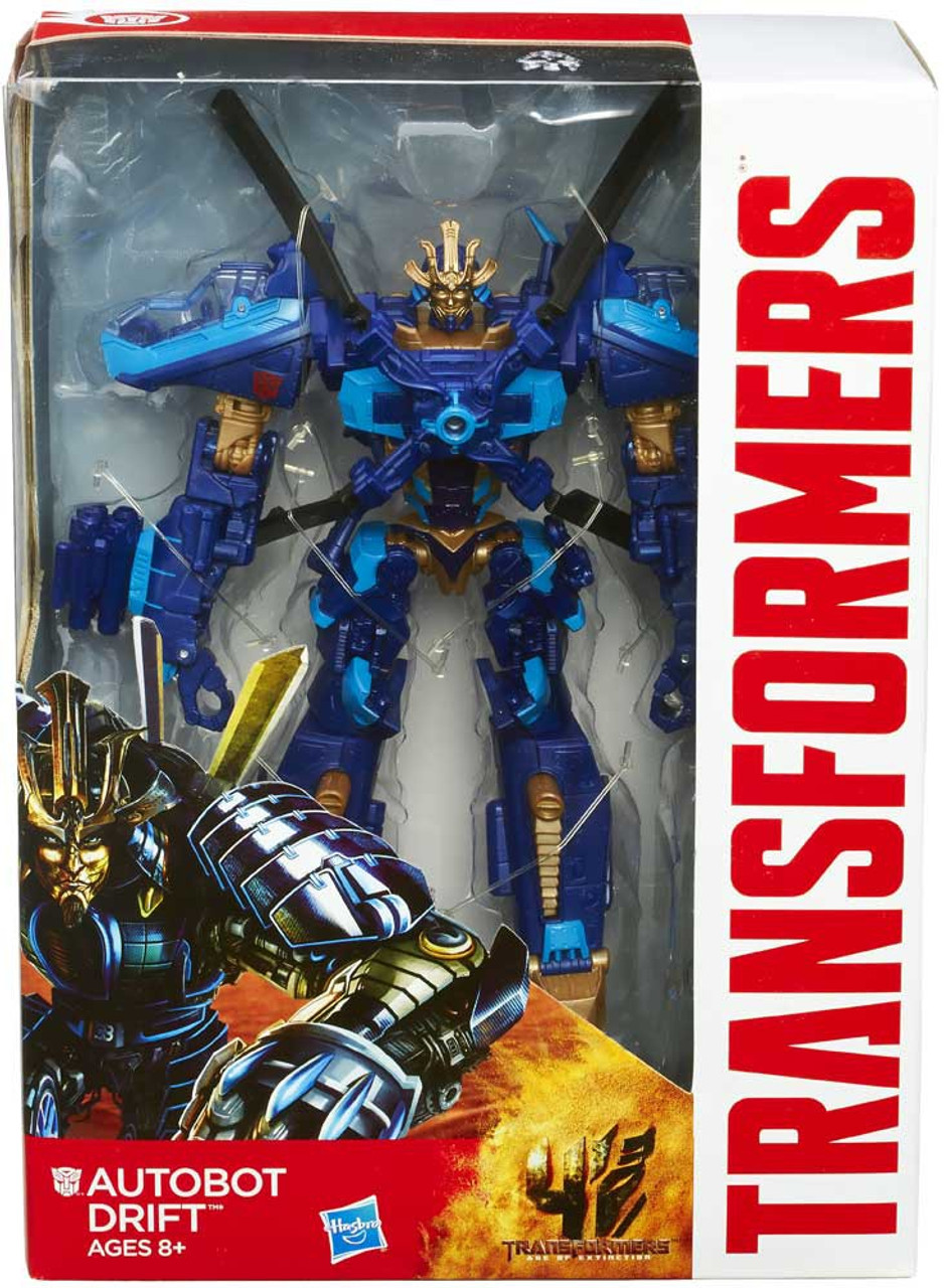 Transformers Age of Extinction Generations Autobot Drift Voyager Action Figure