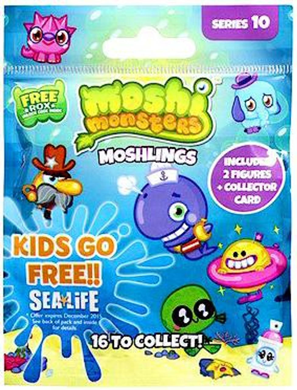 Moshi Monsters Moshlings Series 10 Mini Figure 2-Pack