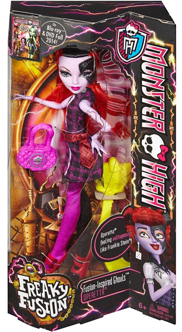 Monster High Freaky Fusion Ghouls Operetta 10.5-Inch Doll