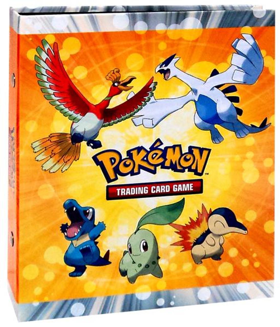 Ultra Pro Pokemon HeartGold & Soulsilver Ho-oh & Lugia 4-Pocket Binder